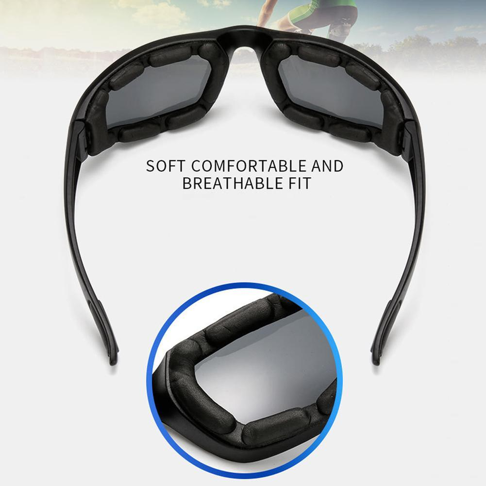 Anti-Glare Motorcycle Glasses Polarized Night Driving Lens Glasses Sunglasse P0