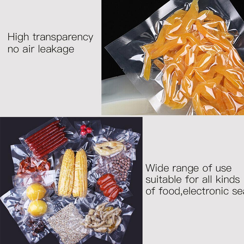 10pcs Sous Vide Bags Reusable Vacuum Sealed Bag Food Saver Storage Bags Kit U8U5