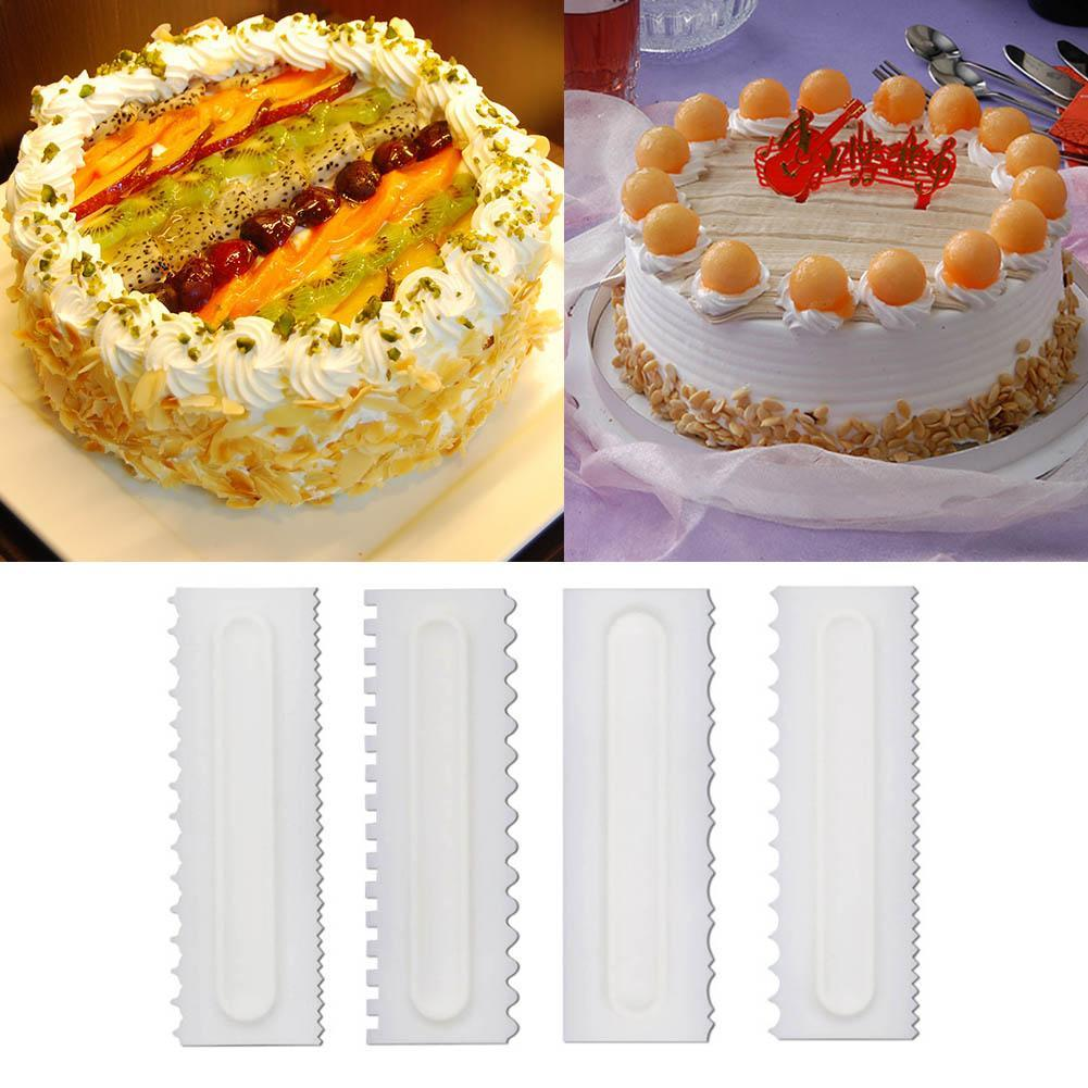 Kuchen Dekorieren Kamm Kuchen Schaber Gebäck Rand Dekorieren Backform Werkzeuge