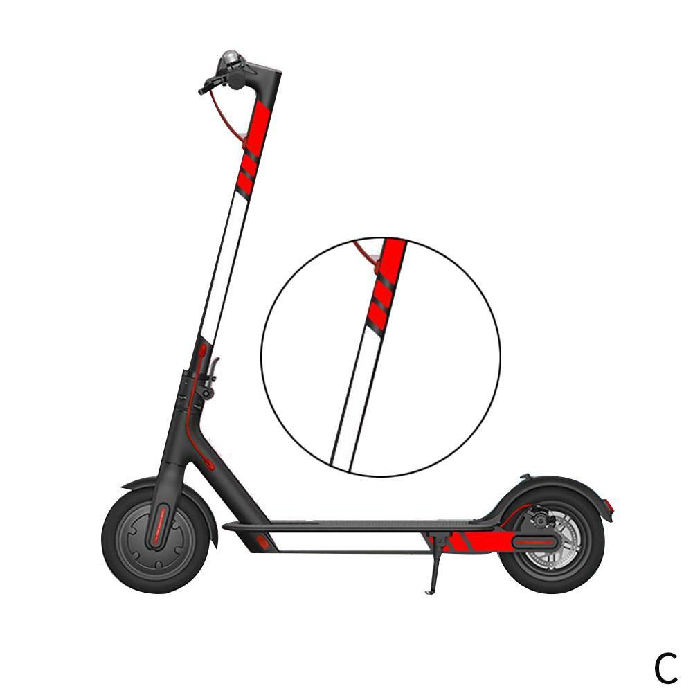 PVC Reflective Stickers For Electric Scooter Styling M365 For Xiaomi Mijia K8E1