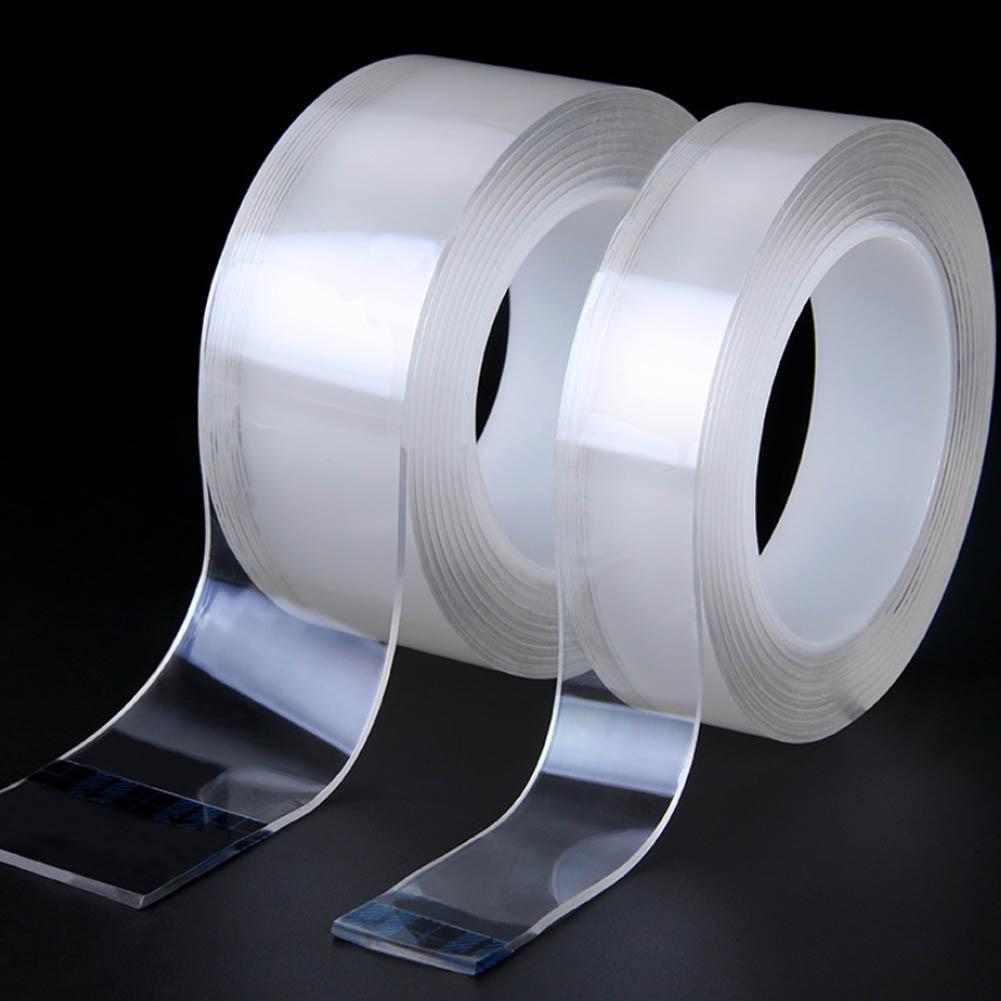Multi Function Double Sided Adhesive Nano Tape Washable