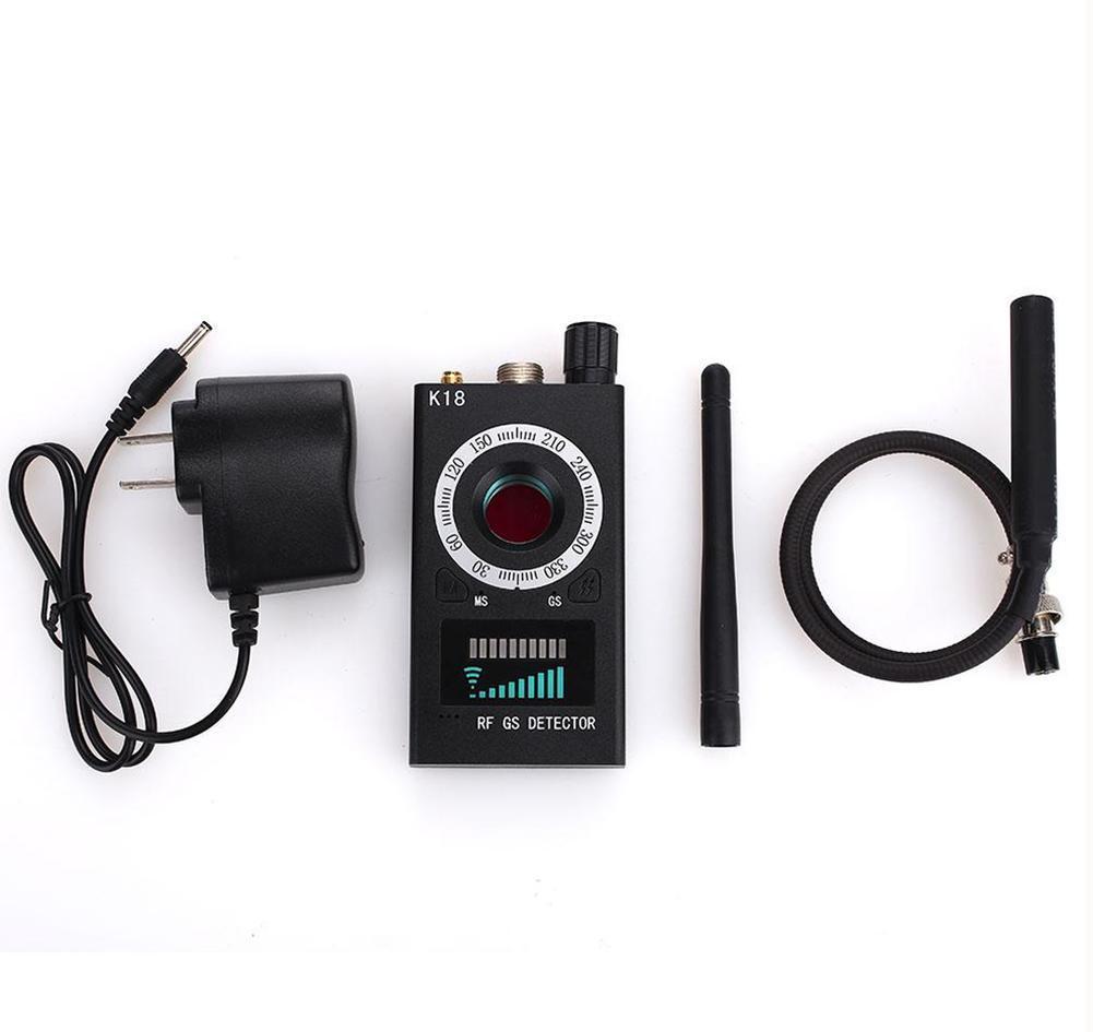 Details about 1x K18 RF Signal Detector Bug Anti-spy Detector Camera GPS  Scan GSM Audio Finder