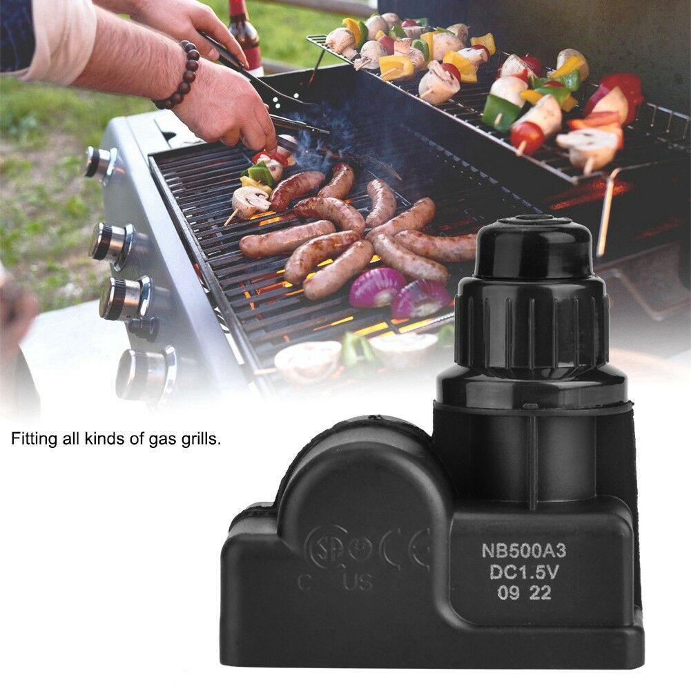 Zündgerät Ausgang Spark BBQ Zünder Batterie Drucktaste Zündung Gas Grill DC1.5V