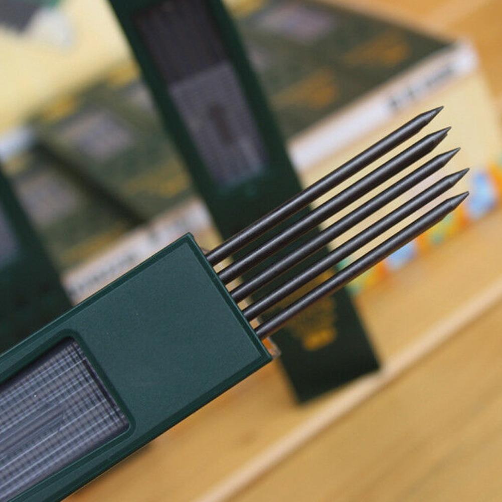 2B Black Lead Refills Holder Automatic Testing Exam Pencil Ne Mechanical V9C3