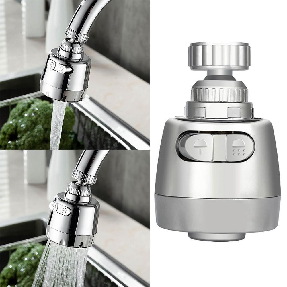 Kopf Belüfter 360 Drehbare Wasser Blase Küche Diffusor Filter-Hahn-Hahn
