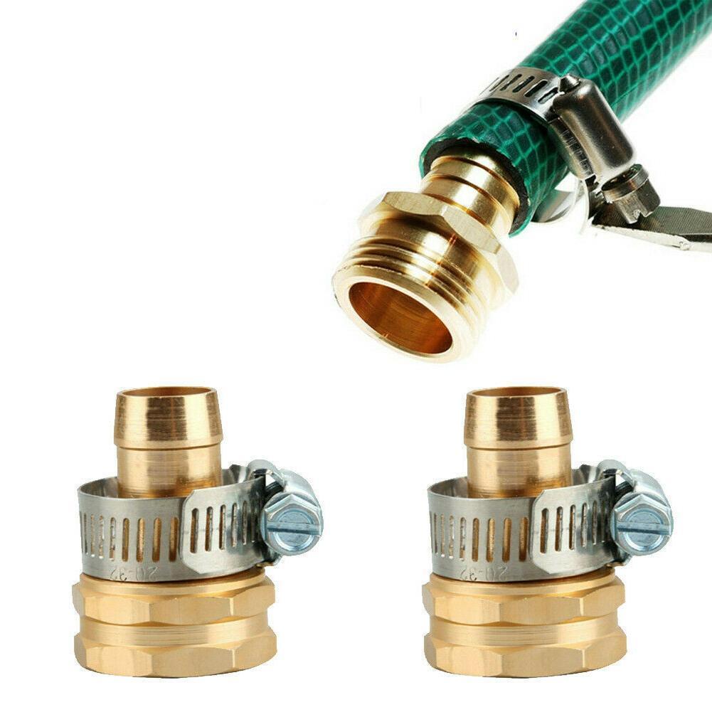 Garden Hose Repair Mender Kit Hose Connector 3//4 5//8 Connector Set Female D8P2