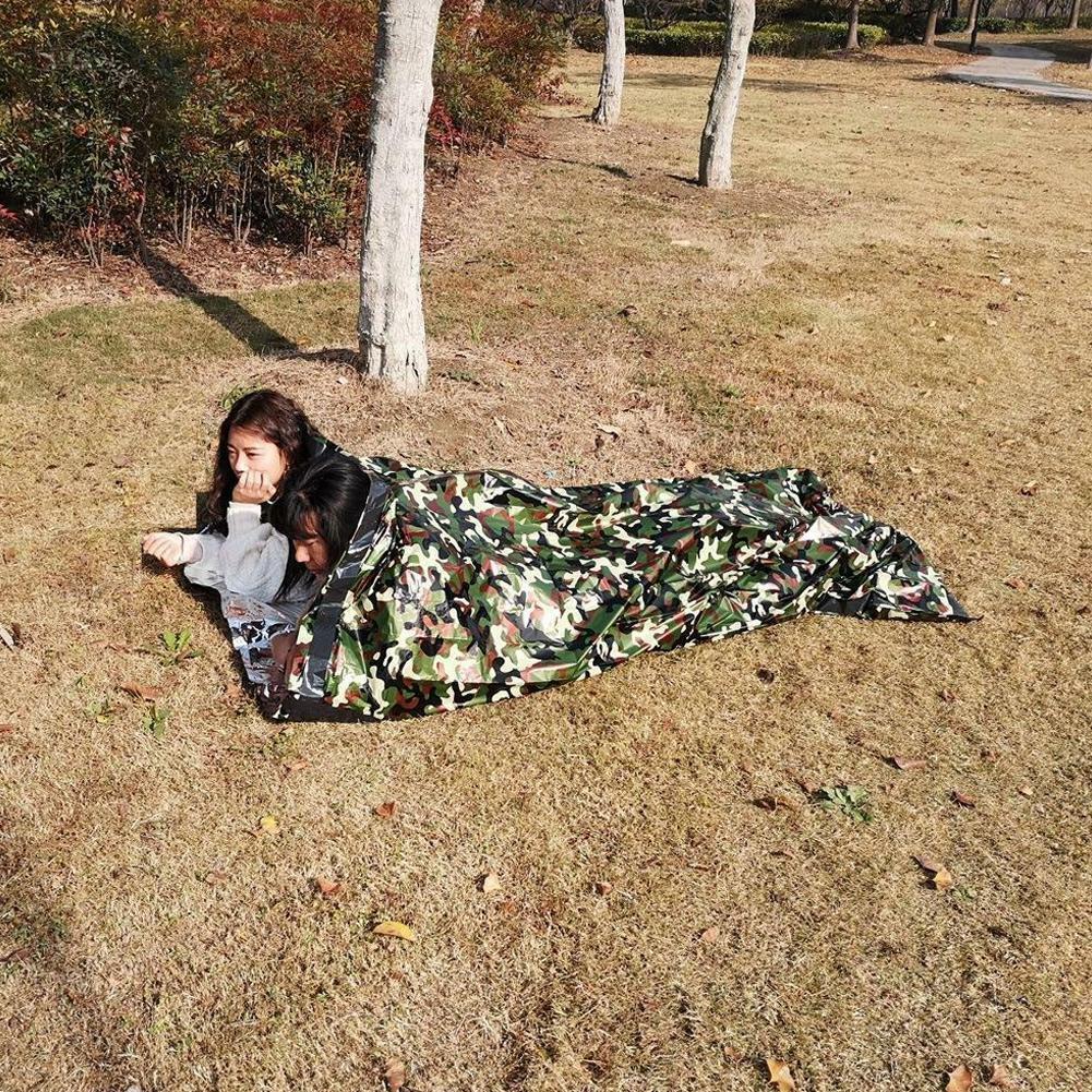 Schlafsack wasserdicht einzigen anzug fall erwachsenen camping wandern out Nett