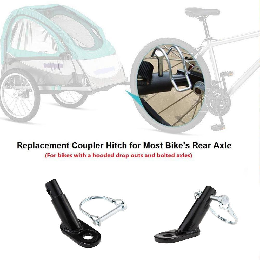 For InStep Schwinn Bike Bicycle Trailer Coupler Linker Attachment Angled Elbow