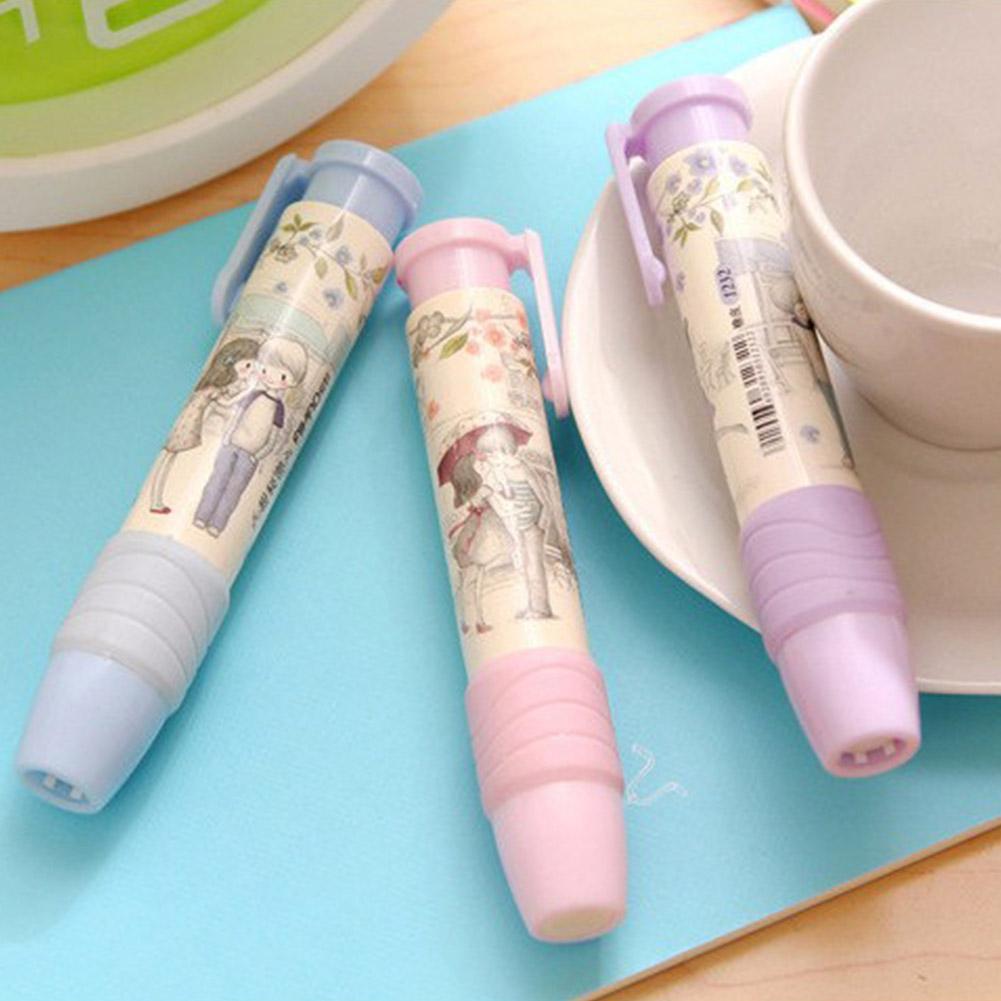 2St Gummi Bleistift Radiergummi Briefpapier Schule Bürobedarf Kinder T6X2 F2U7