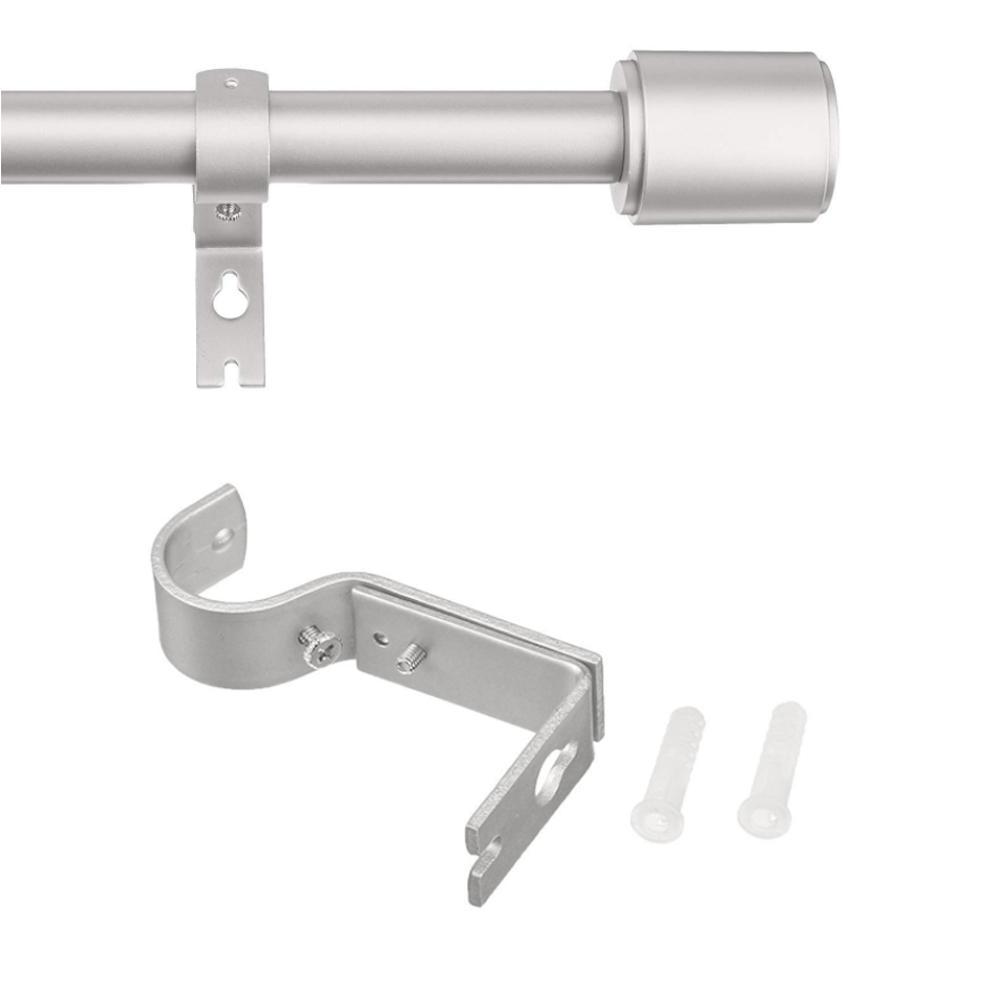 2x Ersatzträger Gardinenstange Halter Einstellbar Vorhangstangenhalter Pro O7X5