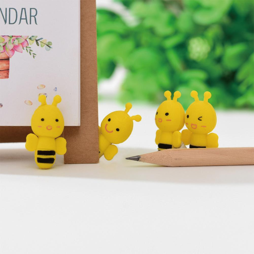8x Dinosaurs Egg Pencil Rubber Eraser Students Office Stationery Kid Toy Fun KA