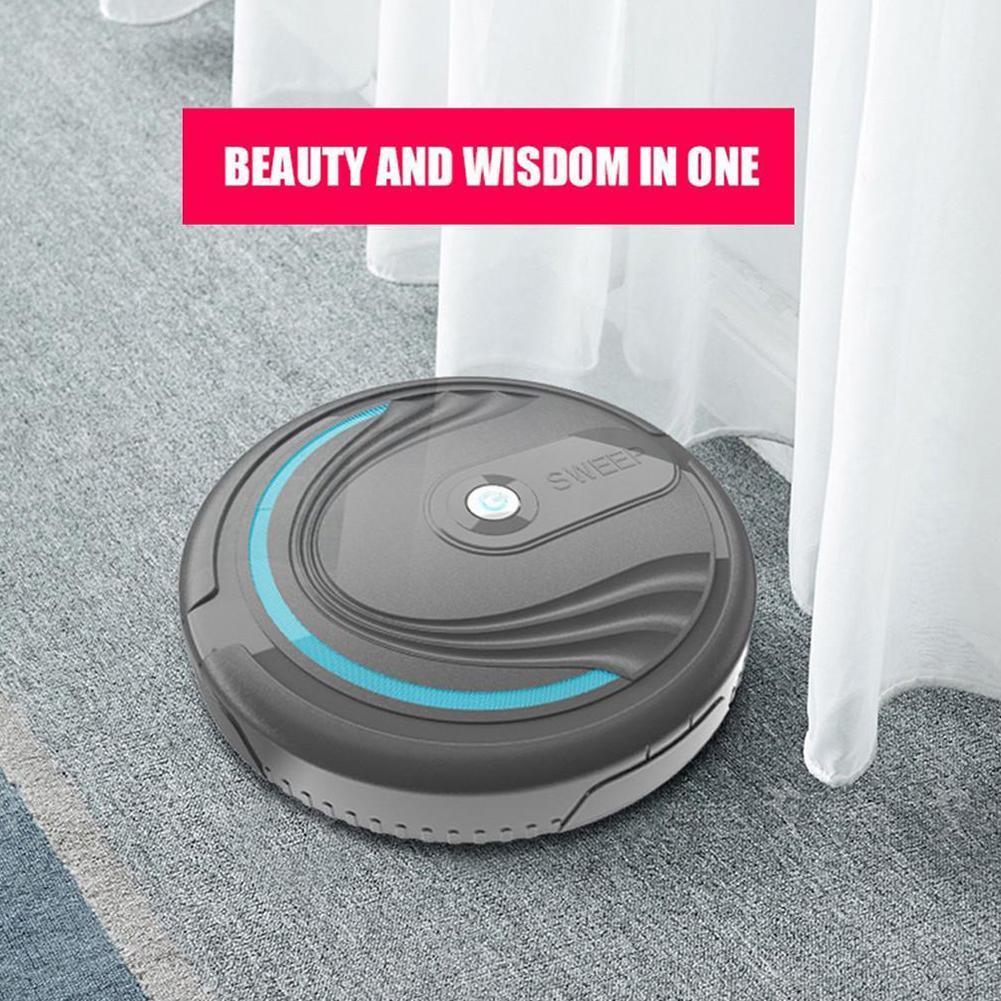 3-IN-1 Smart Floor Robot Vacuum Cleaner Mop Automatic New Distance Edge Sen I7B9