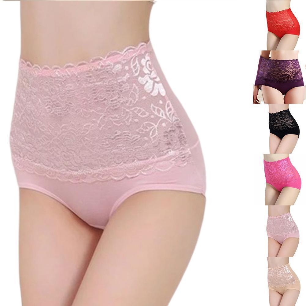 Damen sehen durch Seamless Lace Lingerie Höschen Unterwäsche Unterhose-Briefs