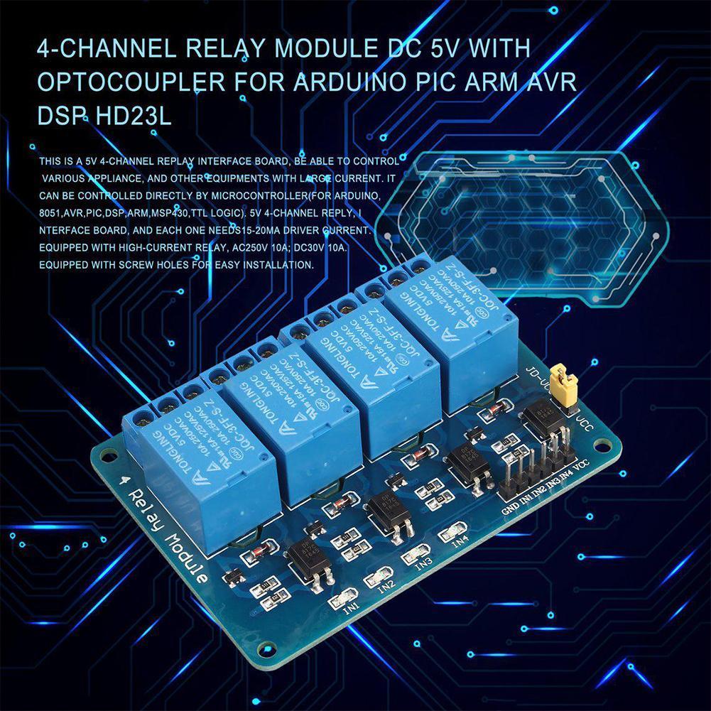 1//2//4//6//8 Kanal Relais Board Modul Optokoppler LED ARM Mode für Arduino PiC J8Y6