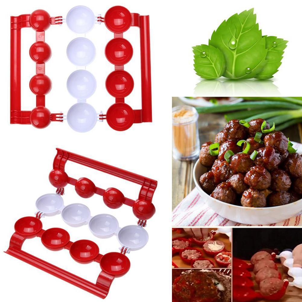 Fleischb/ällchenform zur Herstellung von 3,5CM Fleischb/ällchen mit Durchmesser CuiGuoPing 17CM Long Meatball Maker