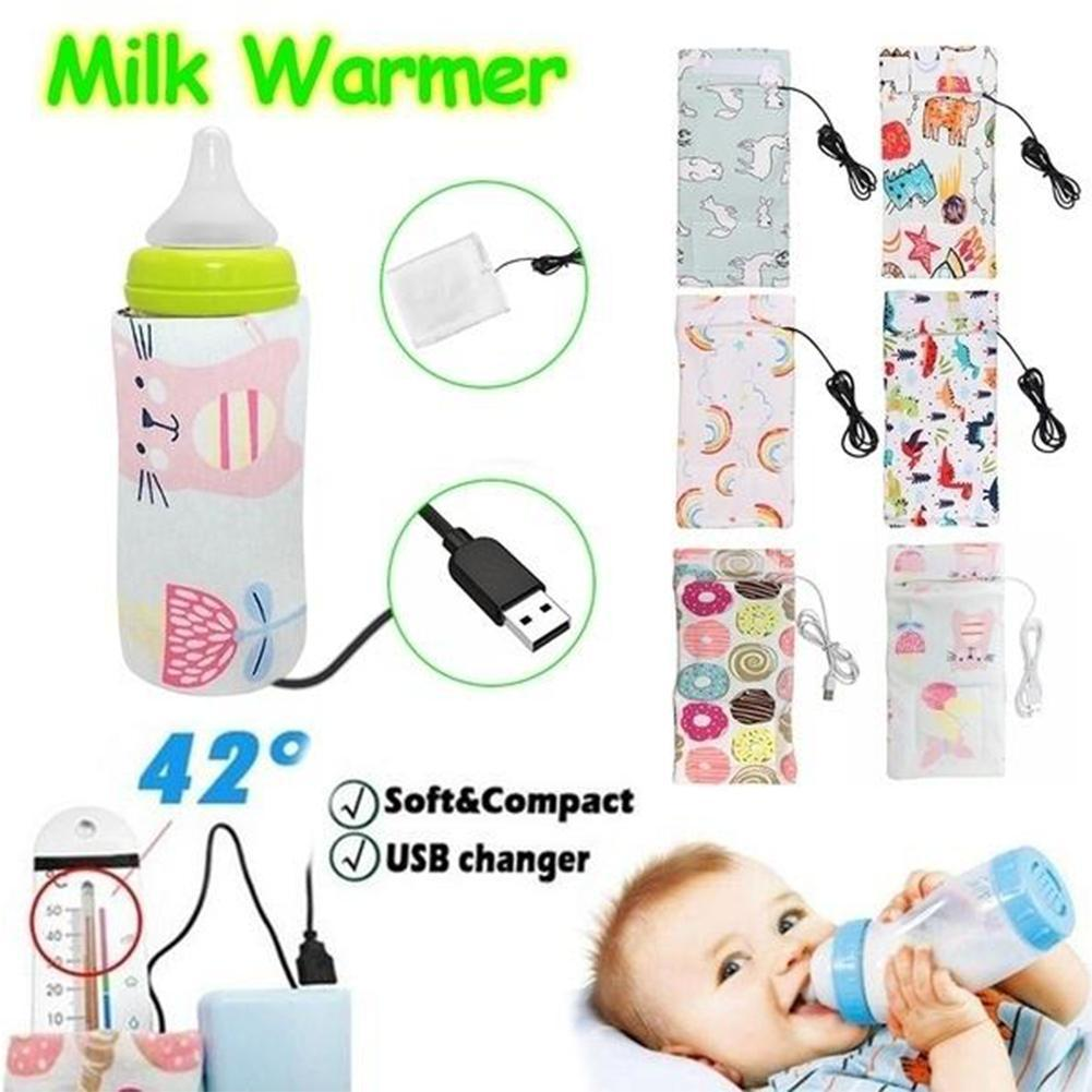 Baby Portable Bottle Warmer Thermal Kids Feeding Milk Bag Outdoor Keep Warm New