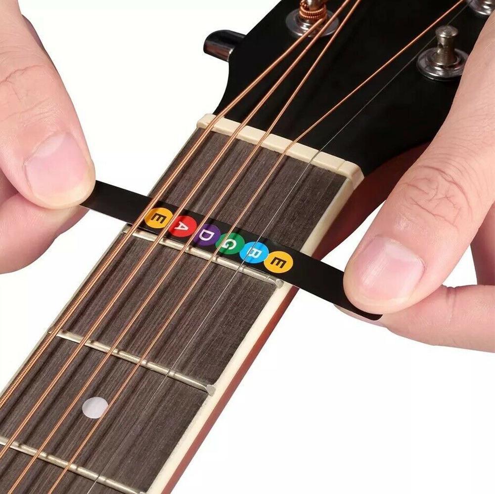 Guitar Fretboard Note Decals Fingerboard Frets Map Sticker