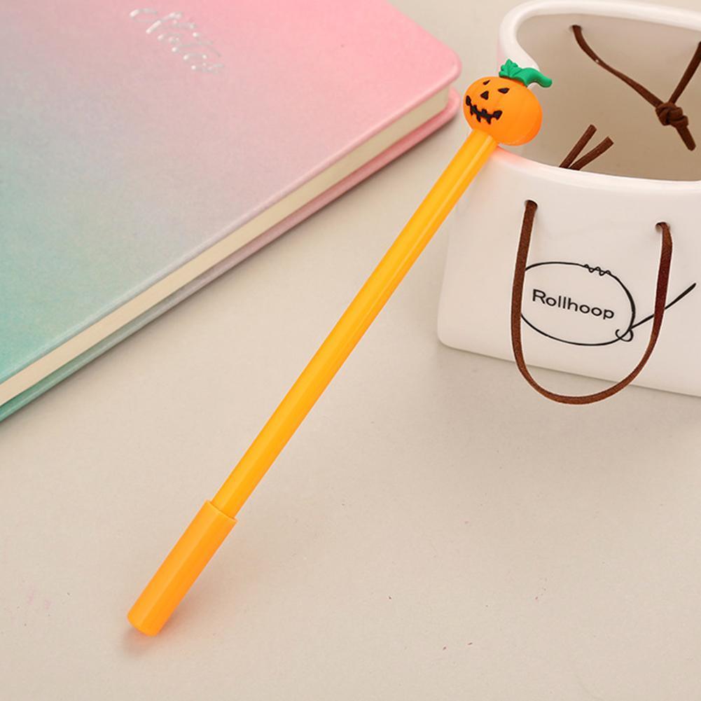 4 Nette Kawaii Lustige Kürbis Gel Ink Roller Kugelschreiber Schule Stift Best