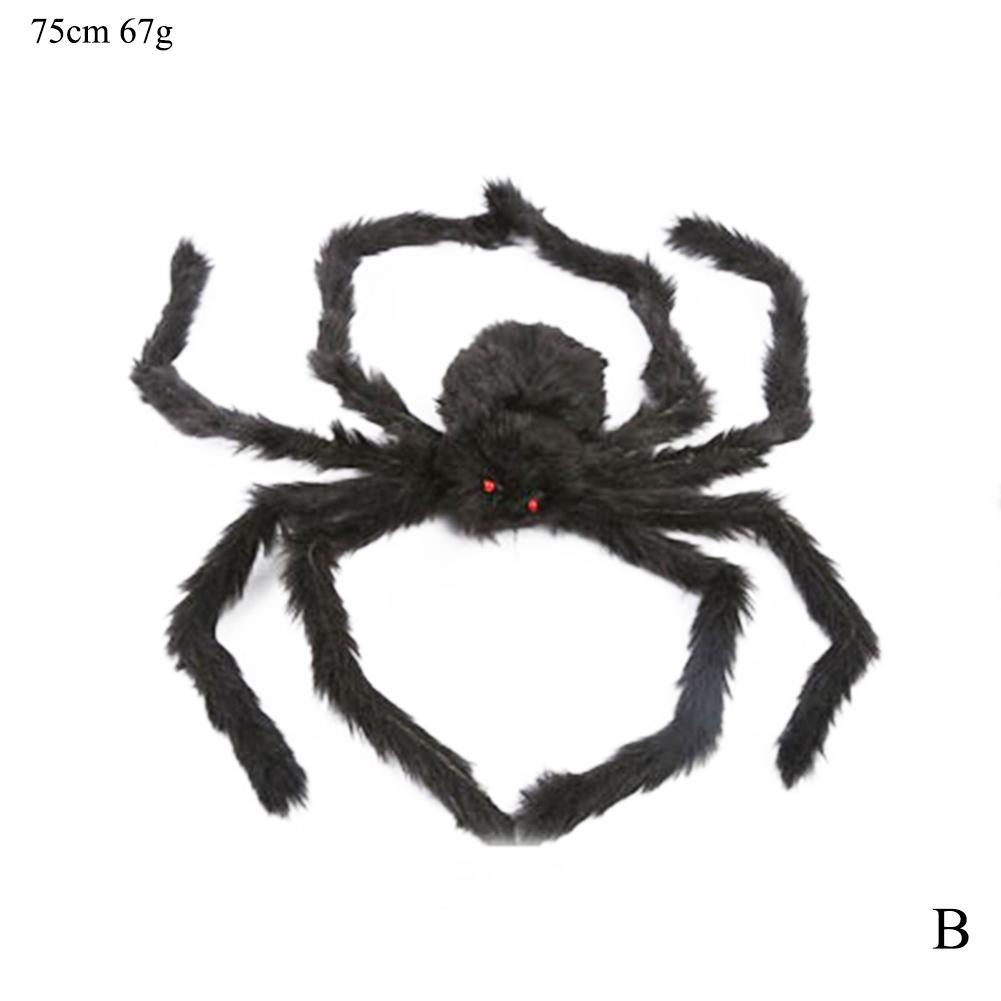 20//50//100Pcs 2cm Mini Horror Spider Haunted House Spider Web Bar Party Decor