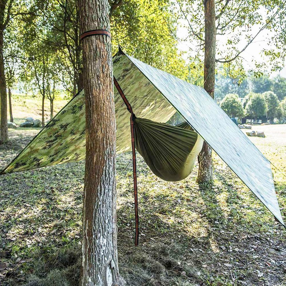 Wasserdichte Camping Zelt Tarp Outdoor Markise Sonnenschutz Shelter Mat Baldachi