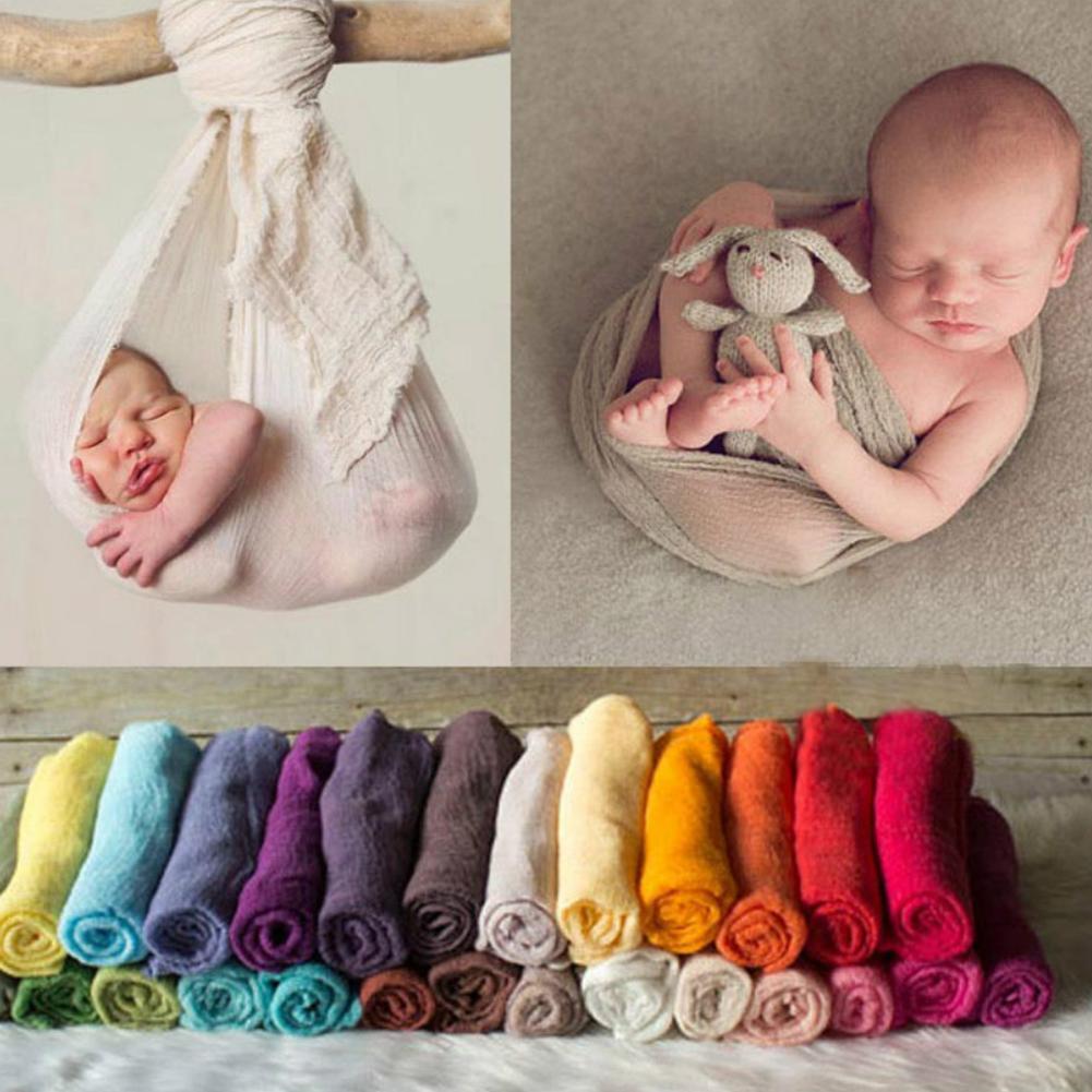 Neugeborenes Baby 180cm Kleinkind Wickel Wickeldecke Fotografie Requisiten 90