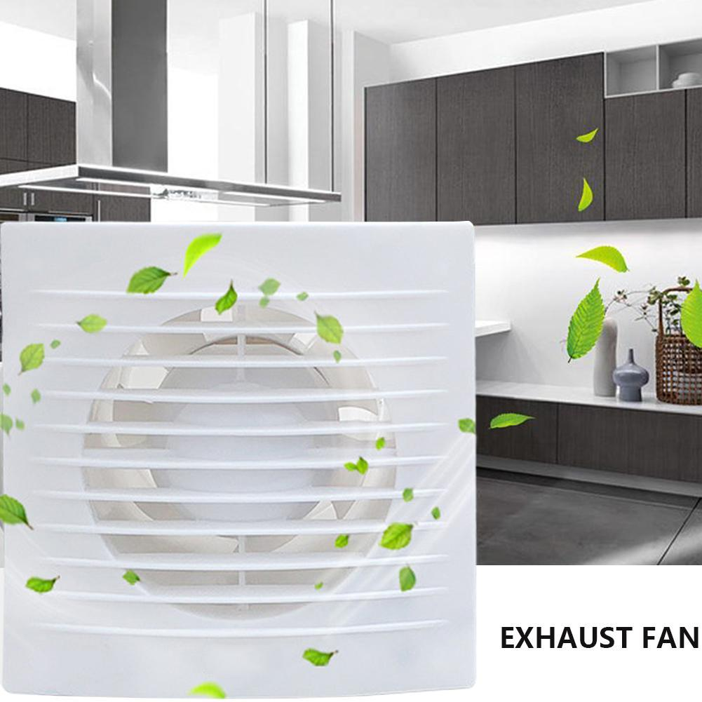 Details about 4in Ventilation Extractor Exhaust Fan Blower Window Wall  Kitchen Bathroom Toilet
