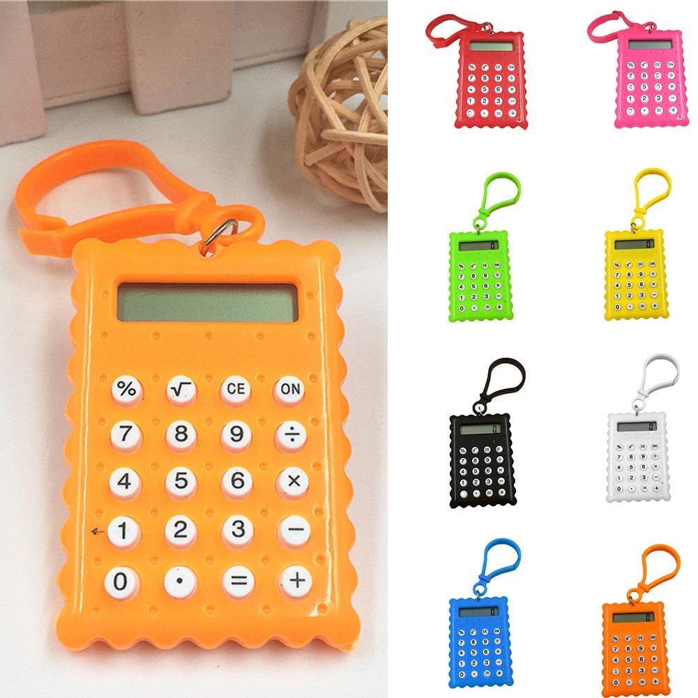 Pocket Mini 8 Digit Electronic Calculator Battery Powered School Office Hot Sale
