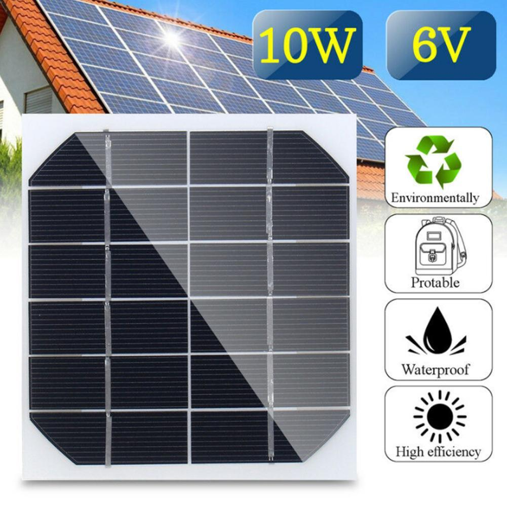 1V 400mA Mini Solar Panel Module Solar System Epoxy Cell Charger DIY CA S