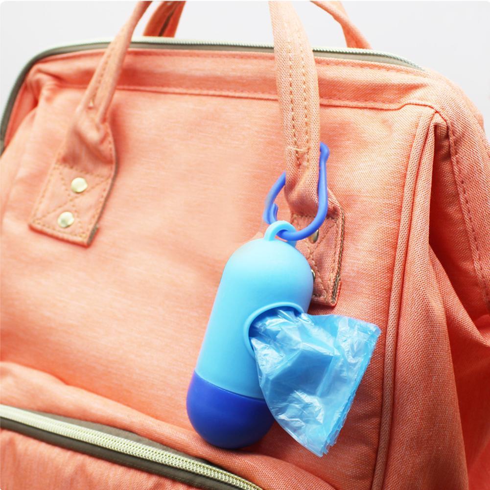 Removable Box Nappy Bag Portable Baby Diapers Abandoned Bag Rubbish Bags Tool BO