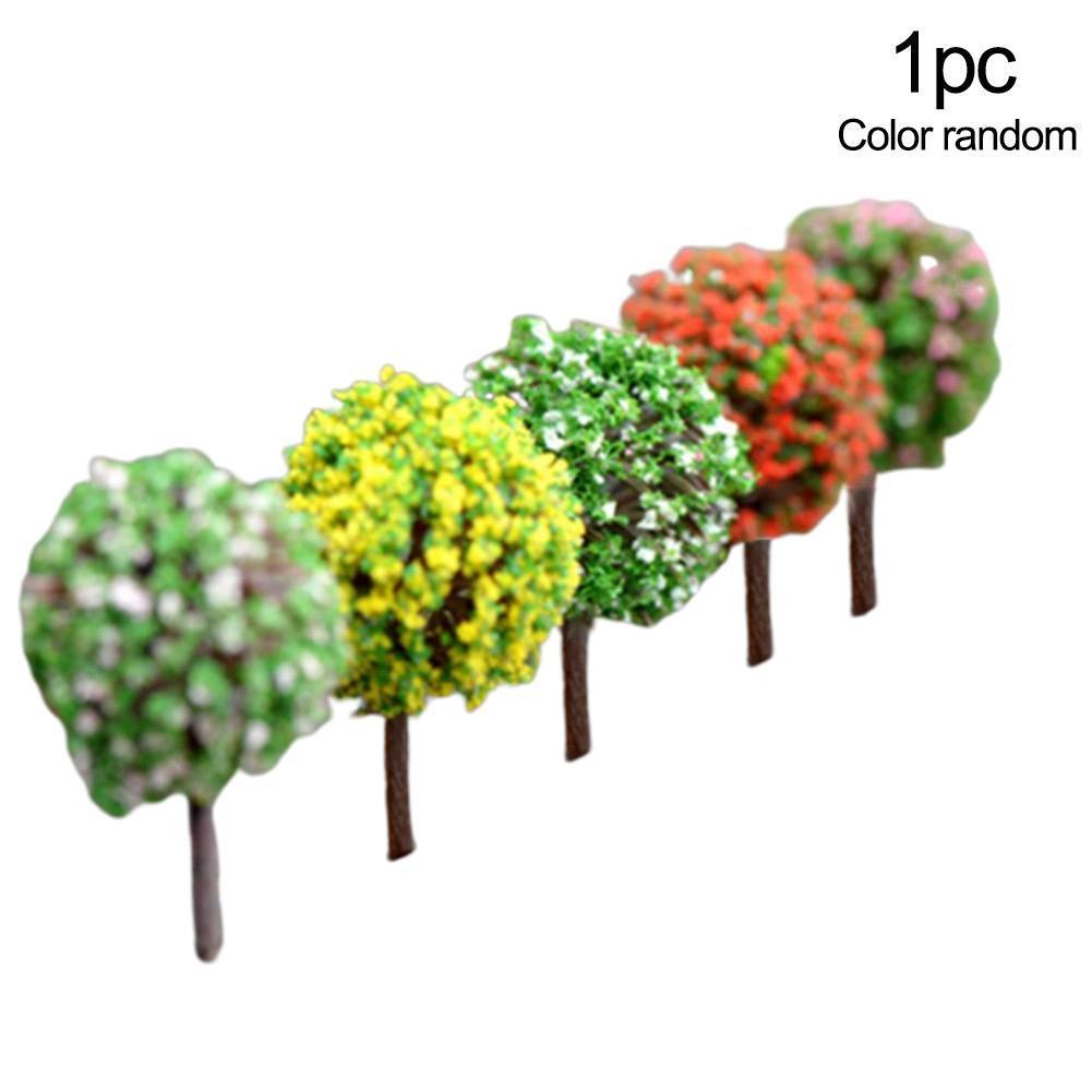 5pcs Miniature Rainbow Fairy Garden Micro Landscape Craft Bonsai Decor