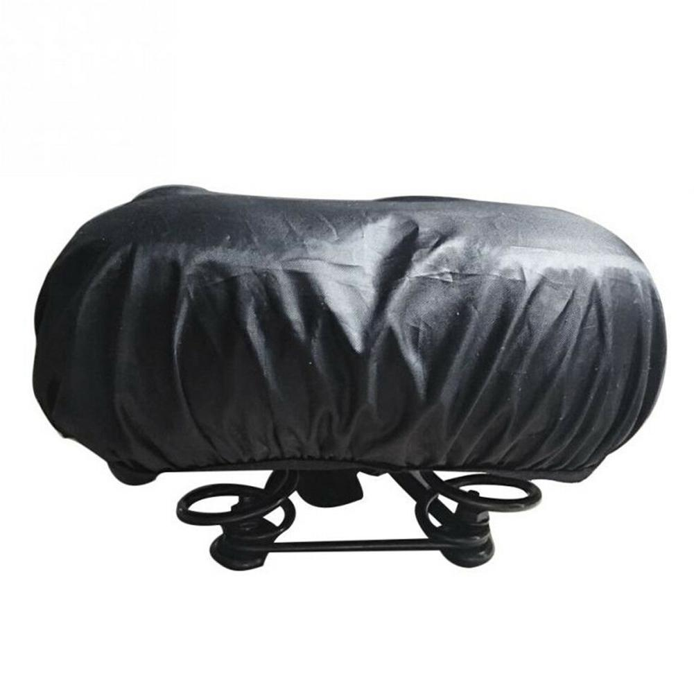 Waterproof Bicycle Seat Cover Elastic Rain Dust Resistant Outdoor Hot Cover M2J7