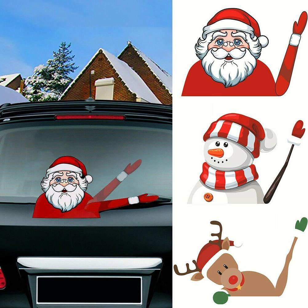 Christmas Car Rear Window Decoration