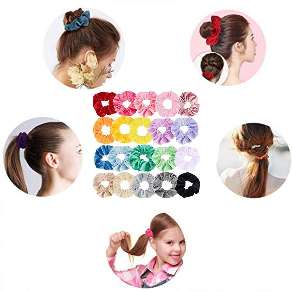 10 Stk Kunststoff Haargummis Spirale Haargummis Keine Crease Coil Haargummi G9D9