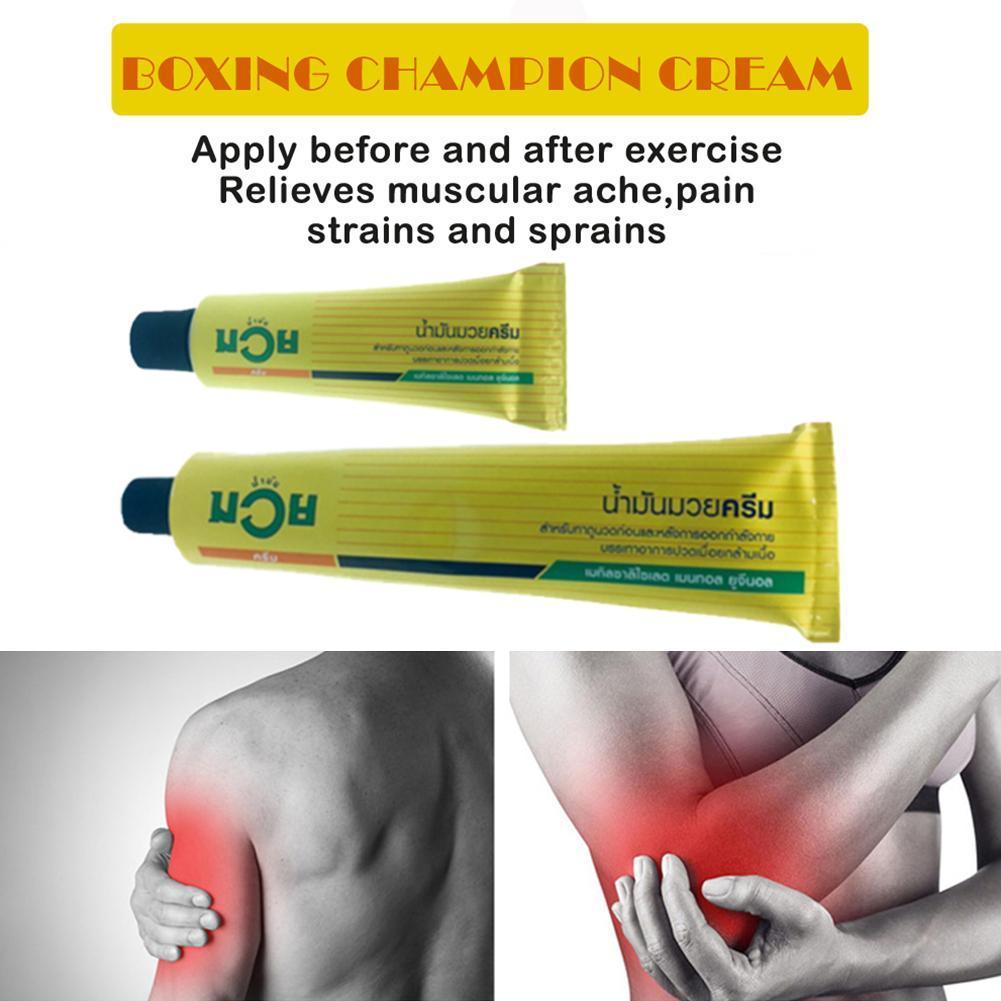 3x 100g NAMMAN MUAY THAI BOXING Analgesic Cream Relieves Muscular Aches Pain