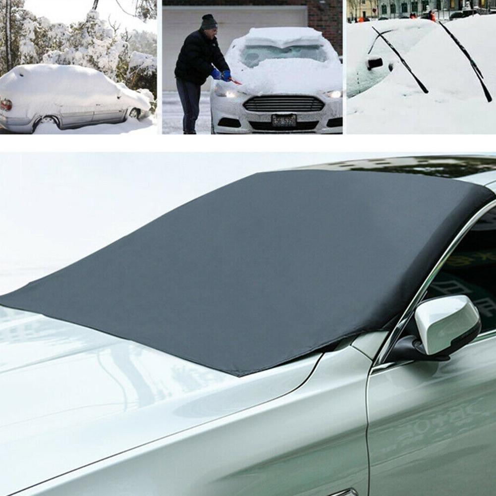 Für Car Auto Magnet Windschutzscheibe Abdeckung Sonne Schnee Eis Frost Ersatz