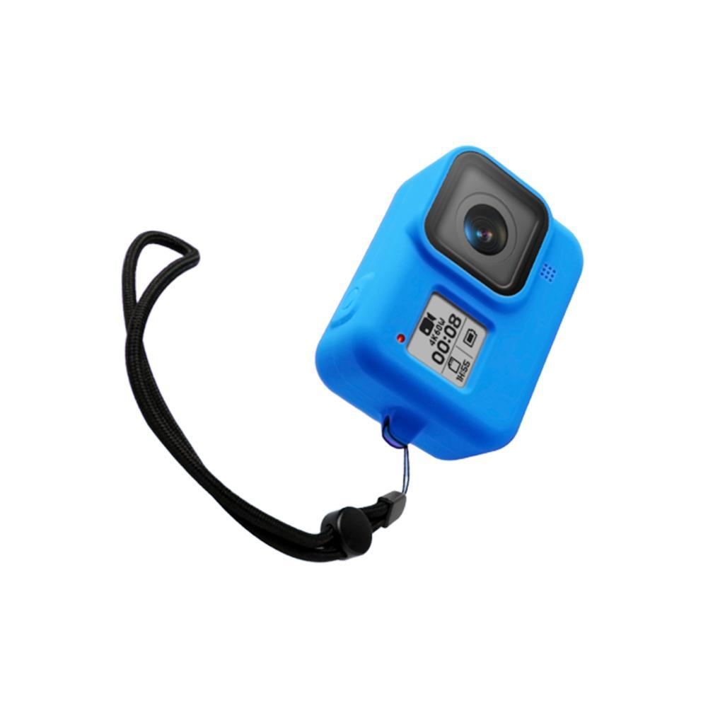 For Gopro Hero 8 Camera Soft Silicone Protective Case/&Lanyard accessories I1R3