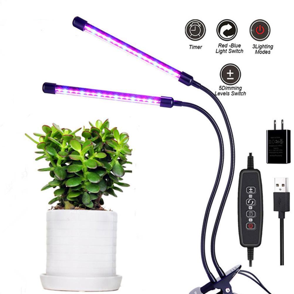 80LED plant grow light bulb flower seeds growing lights bulbs M6O4