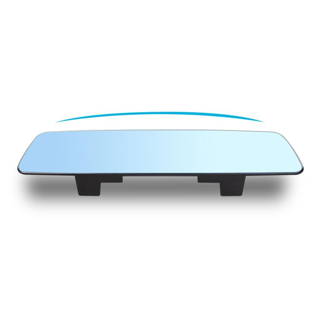 280mm Wide Flat Clear Wide-Angle 80MM Height Interior Clip On Rear View Mirror