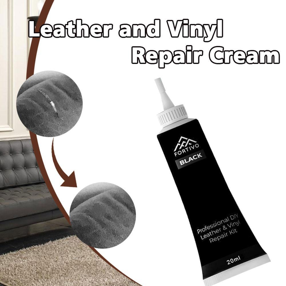 25g Leather Repair Cream For Furniture Couch Car Seats