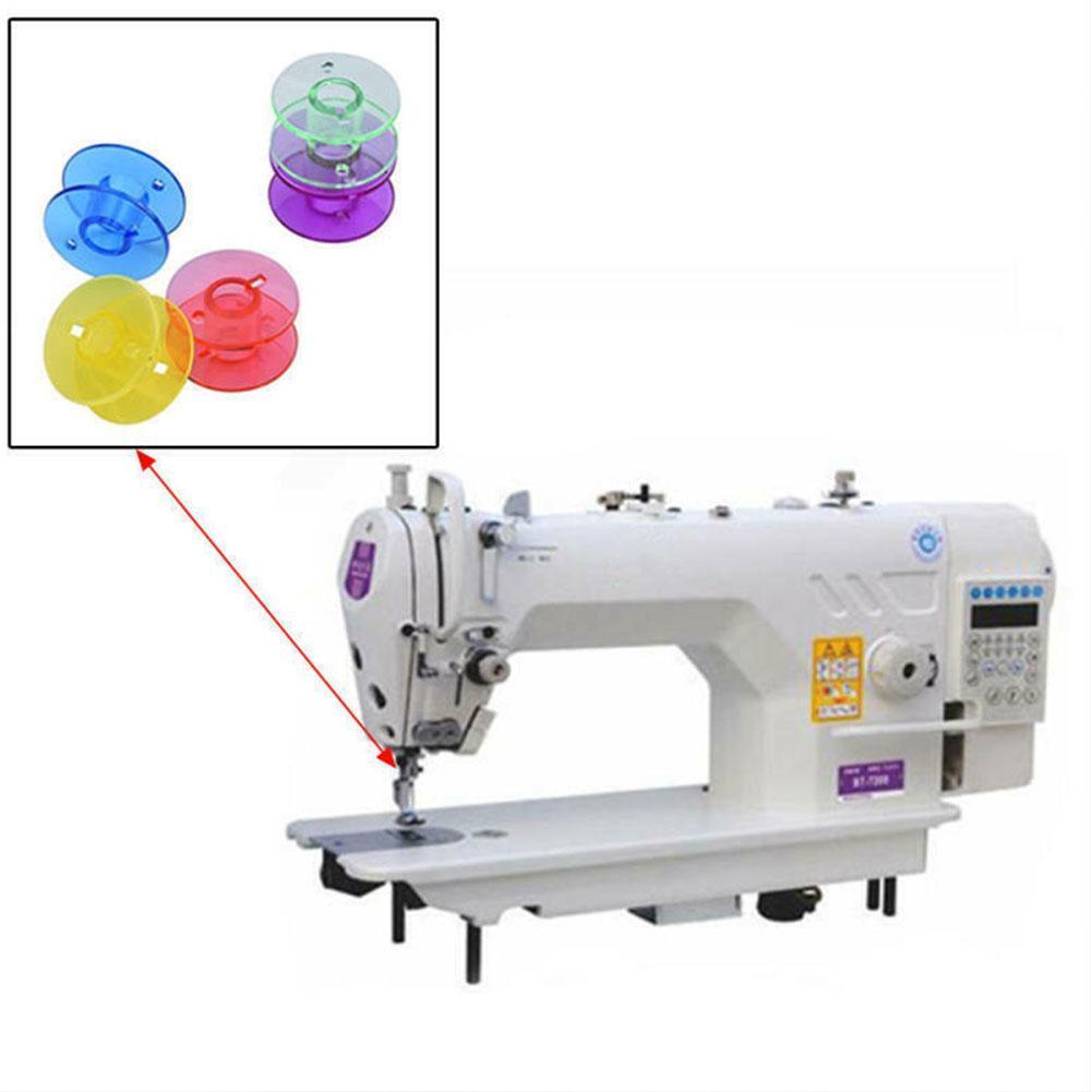 25 Pcs +Tape Measure 25 Pcs Transparent Plastic Sewing Machine ...