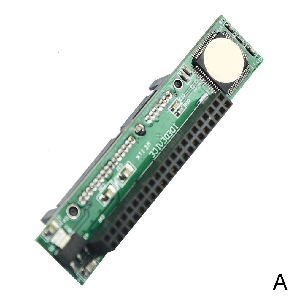 "SATA ssd hdd female hard drive to ide 3.5/"" 40 pin male converter card adapter NI"