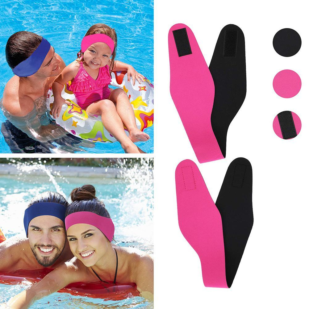 Children/'s adult/'s ear band swimming hair headband waterproof protection unisex