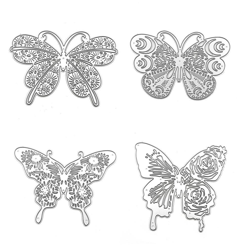 Butterfly Metal Cutting Dies Embossing Molds Scrapbook Crafts Album Decoration T