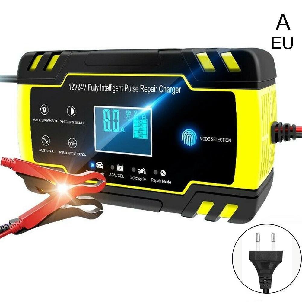 Car Battery Charger Jump Starter Emergency 12v 24v Power
