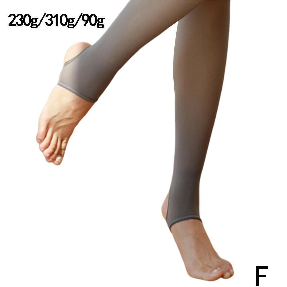 Bare-Legged Pantyhose Fake Translucent  Fleece Pantyhose Velvet Pantyhose Nice