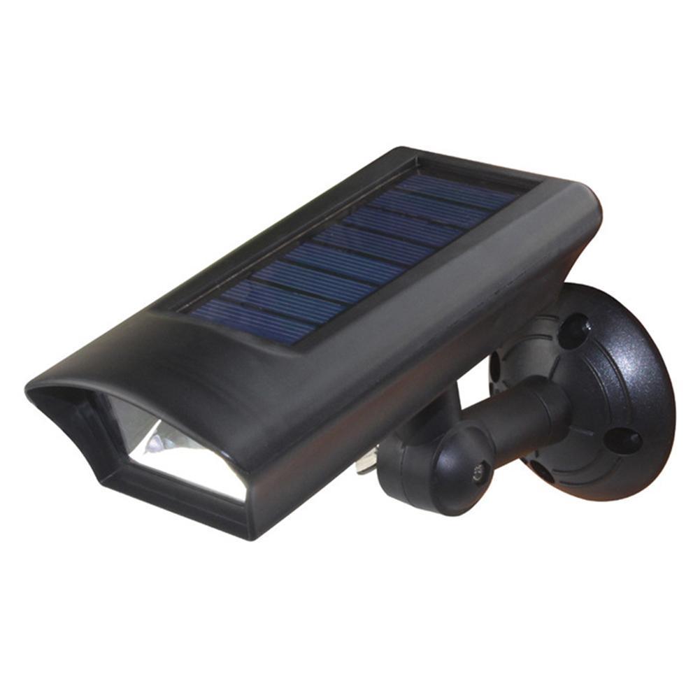 2in1 LED Solar-Außenstrahler Garten Gehweg Veranda Weg Rasen Lampe wasserdichte