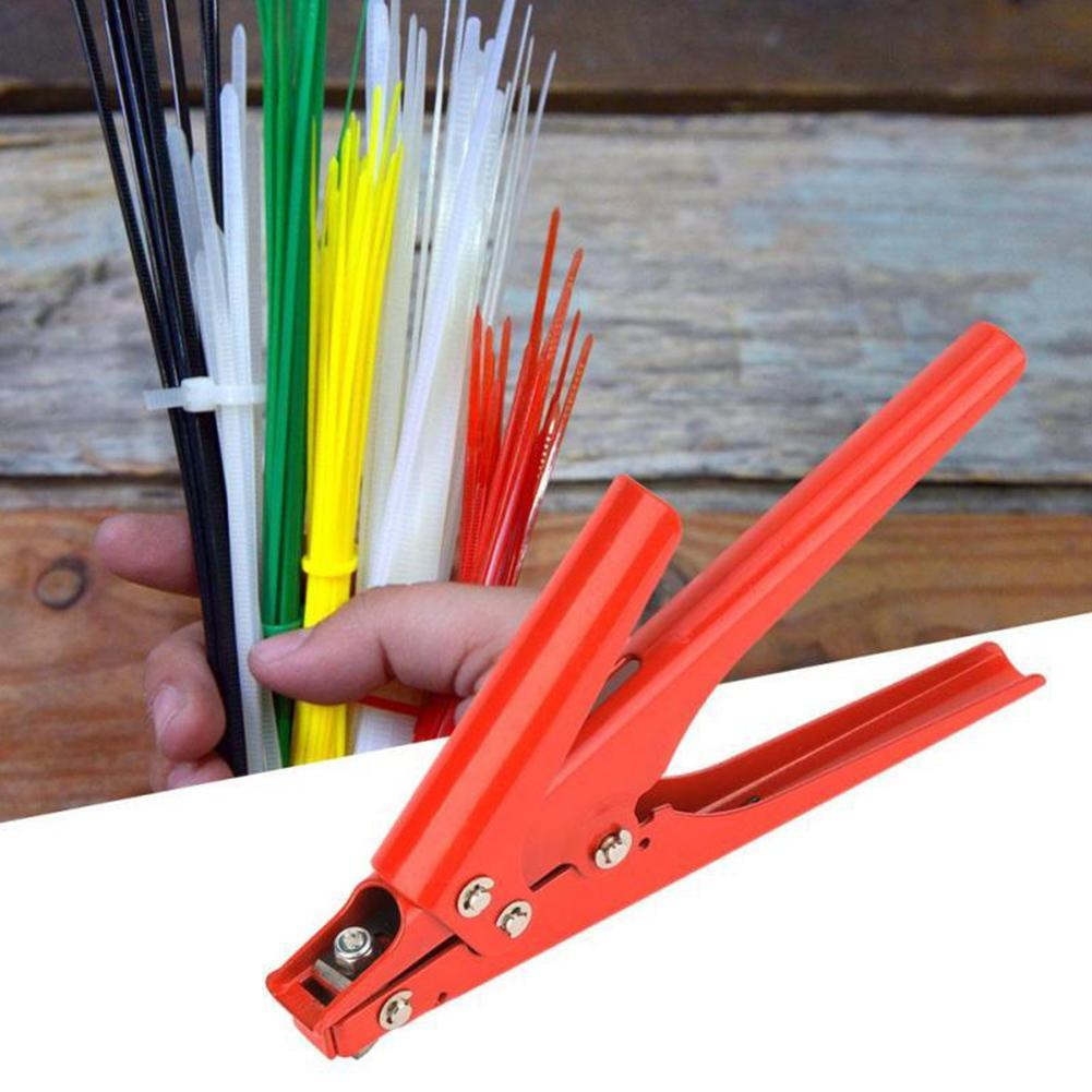 Heavy Duty Nylon Cable Zip Tie Tensioning Fasten Tightener Gun Tool off Y3B0