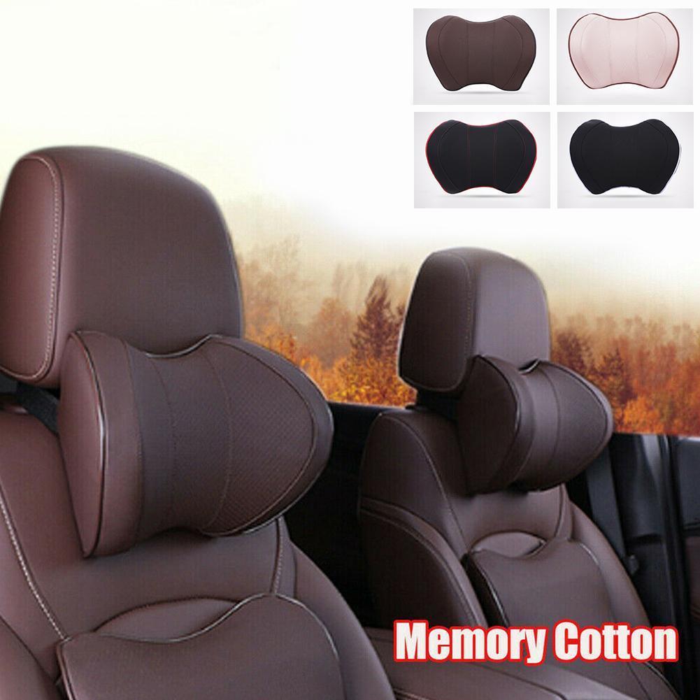 100/% High Density Memory Foam Car Seat Neck Support Cushion for Neck Pain Relief LUOWAN Ergonomic U Shape Headrest Pillow for Car Seat