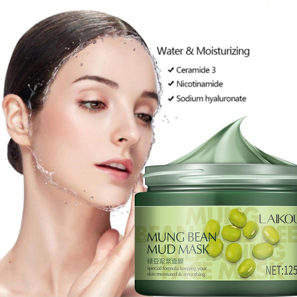 Mung Bean Mud Mask Purifying Facial