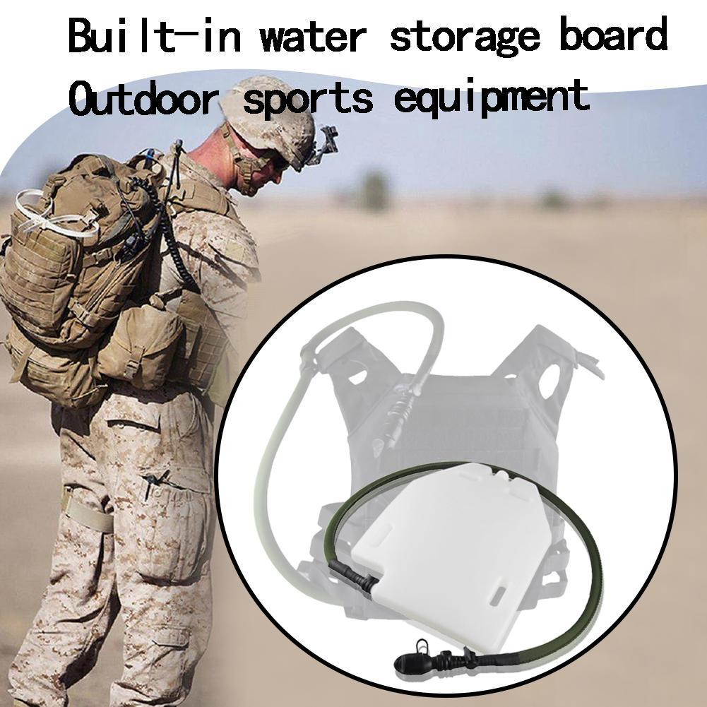1.5L Hydration Bladder Water Bladder Tactical Vest Ballistic Plate Airsoft Gear